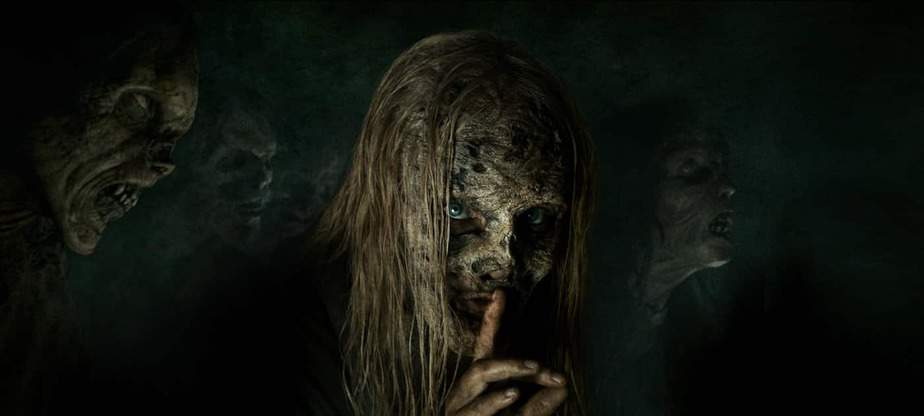The Walking Dead saison 9B de  tease Les Whisperers 1