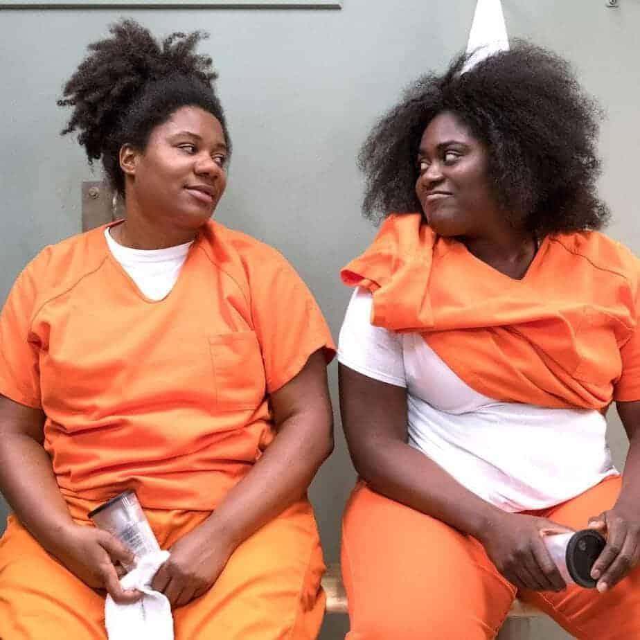 Orange Is the New Black confirme que le tournage de la dernière saison s'est déroulé dans les coulisses du tournage. 1