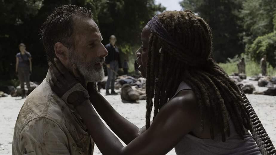 L'actrice fait ses adieux à The Walking Dead après la mort de son personnage 1