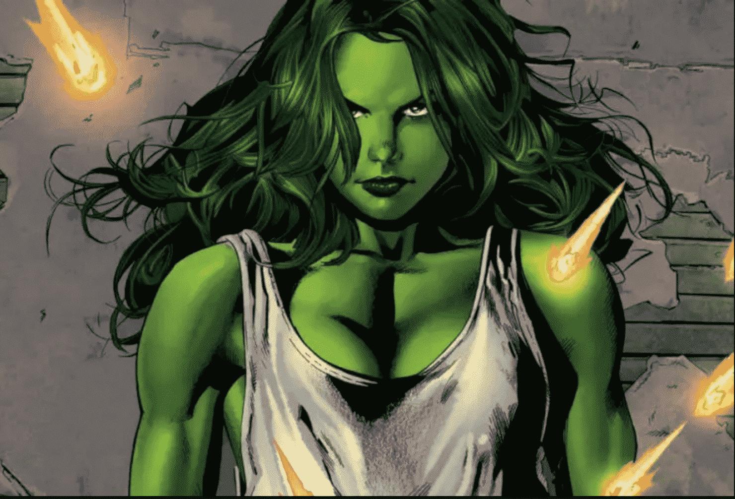 Hulk Woman est choisie ; l'actrice est accueillie par Mark Ruffalo 1