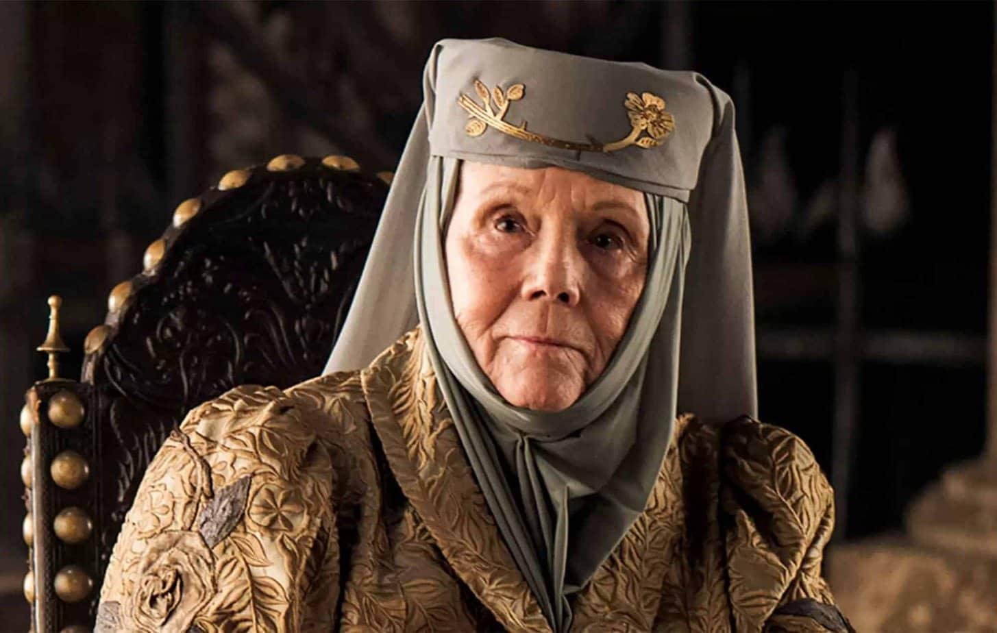Les artistes pleurent la mort de Diana Rigg de Game of Thrones 1