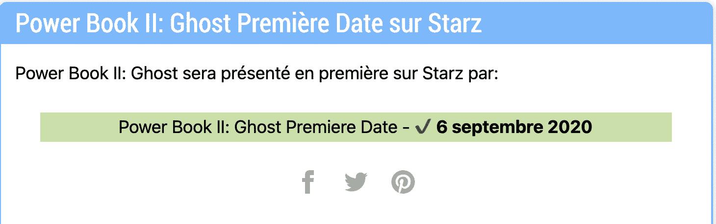 Ghost Power Book II : Premiere date sur starz ; quand sera-t-il diffusé ? 36