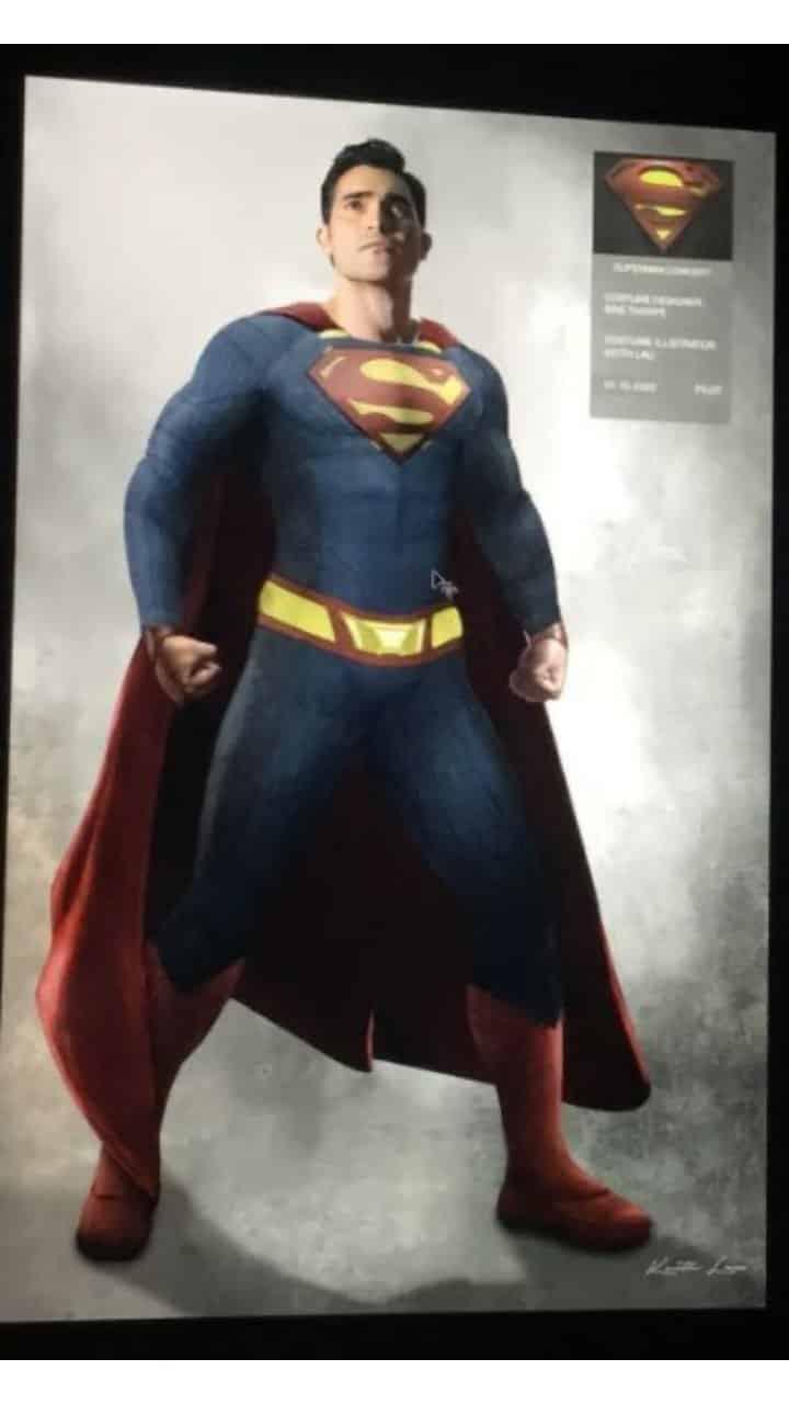 Superman et Lois donneront à l'homme d'acier un nouveau costume 2