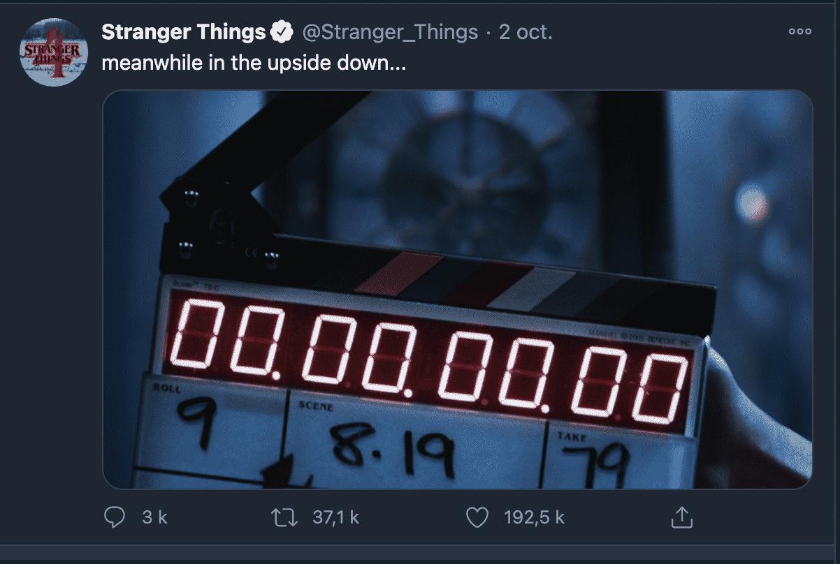 La saison 4 de Stranger Things reprend officiellement la production 2