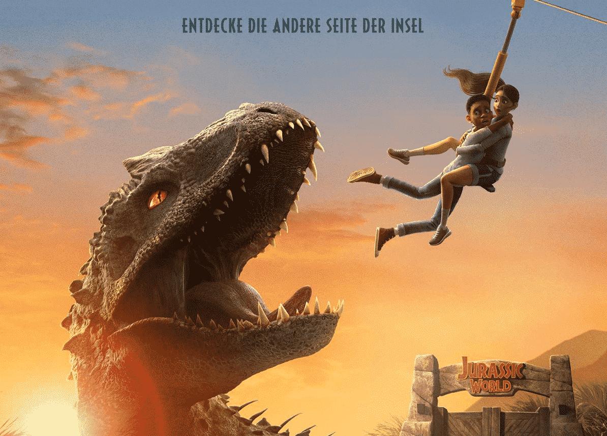"""Netflix : sortie de la bande-annonce de la saison 2 de """"Jurassic World : New Adventures 1"""