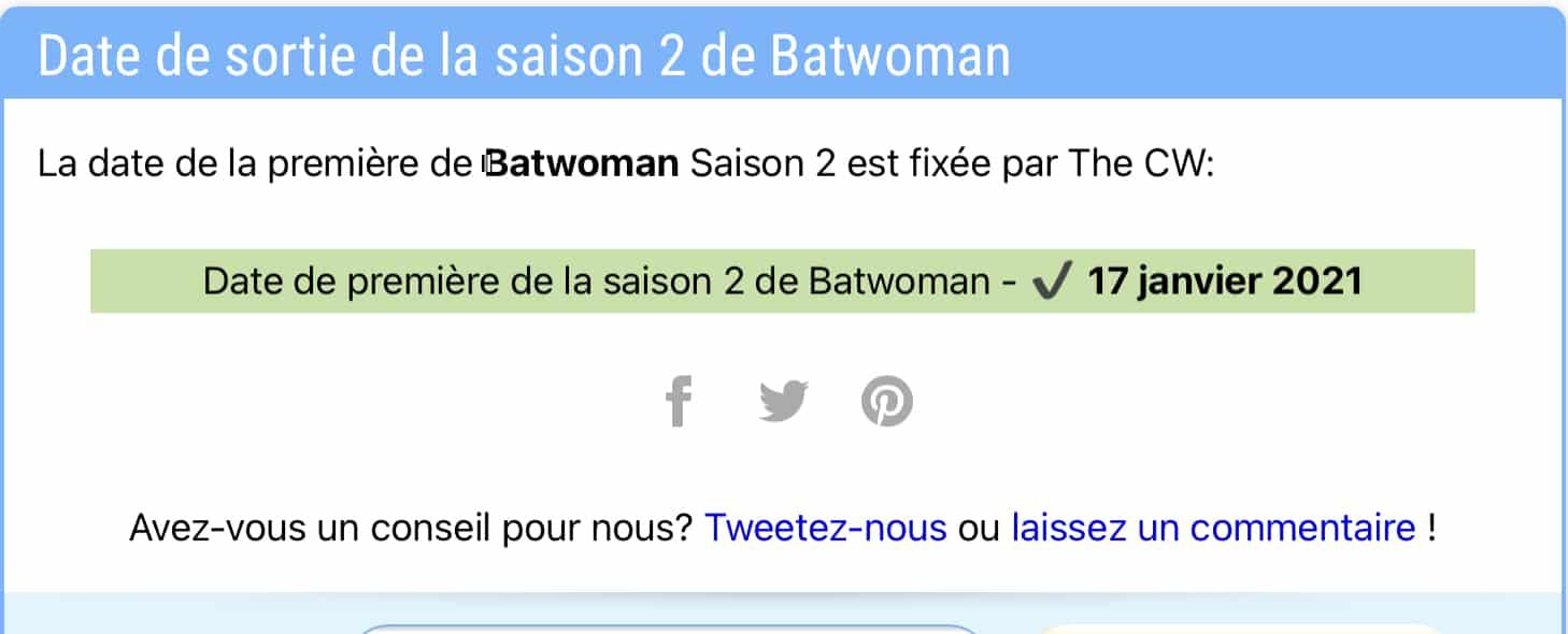 Date de sortie de la saison 2 de Batwoman sur la CW ; a-t-elle été renouvelée ? 36