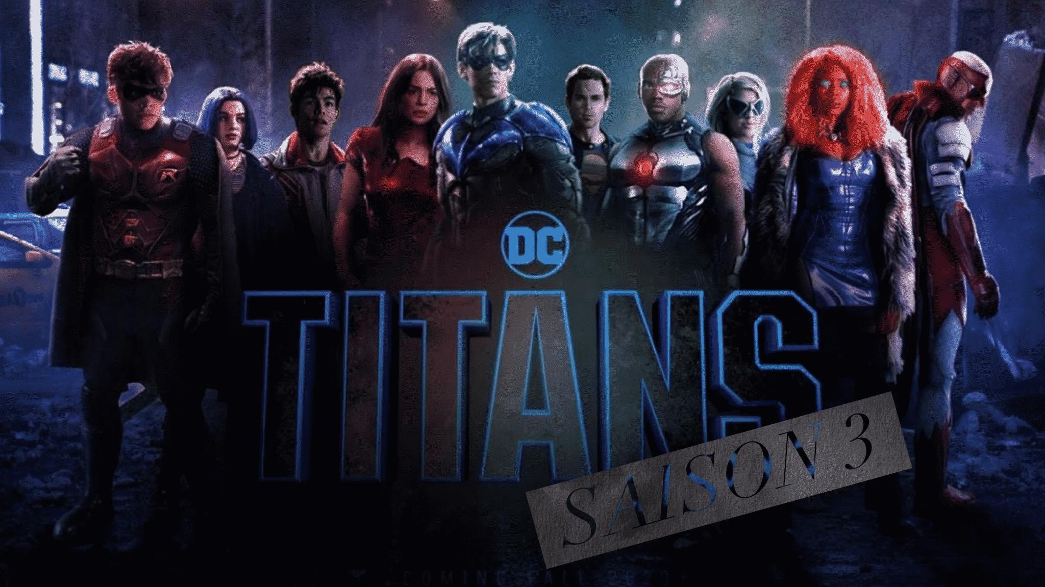La saison 3 des Titans est annoncée, HBO Max diffusera le populaire DC Universe Show 1