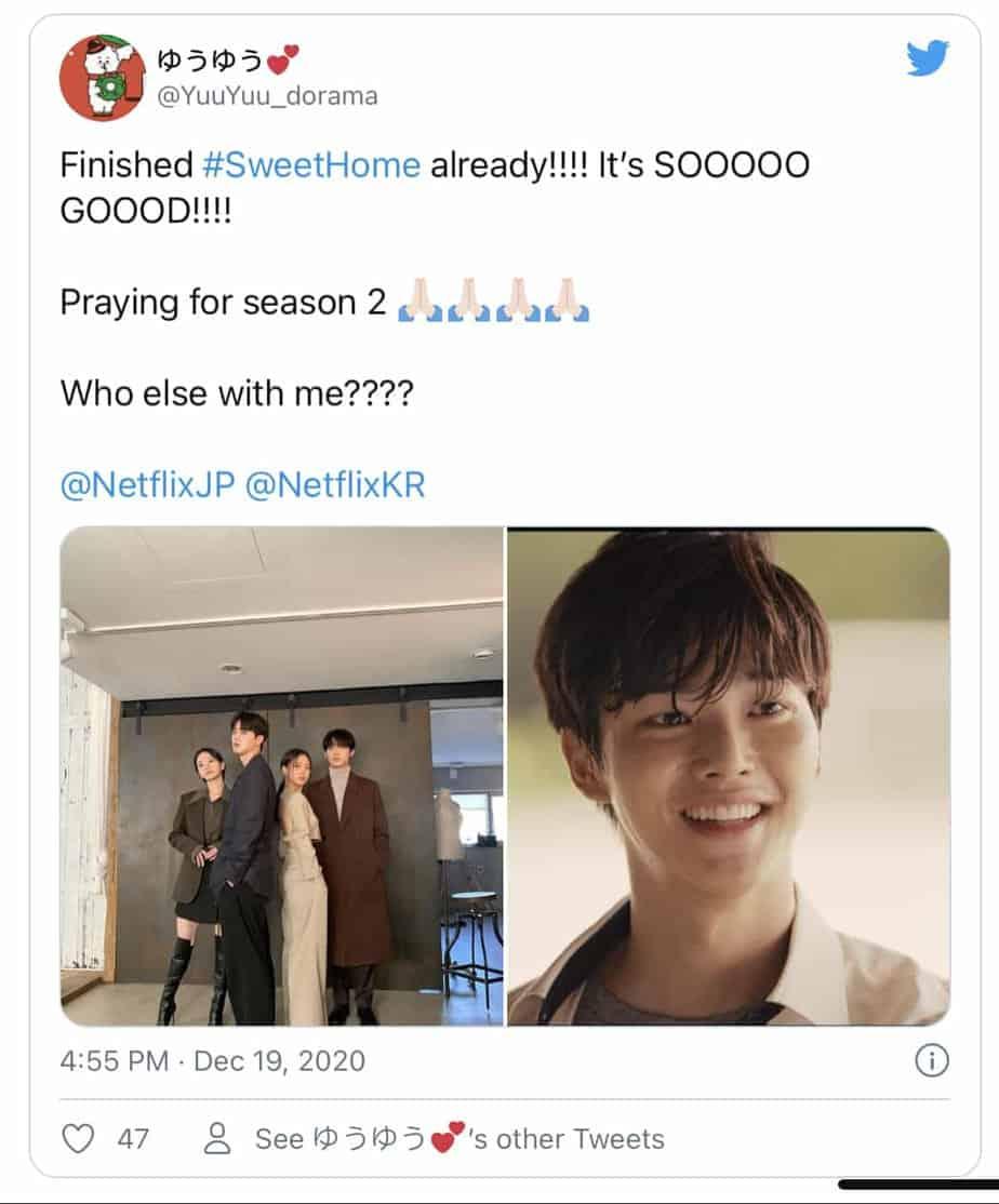 Sweet Home Saison 2 - Quand la saison 2 sera-t-elle diffusée ? Tout ce que vous devez savoir 7